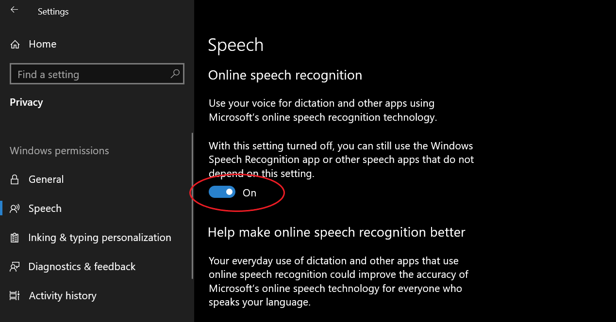 Enable Voice Typing in Microsoft Edge
