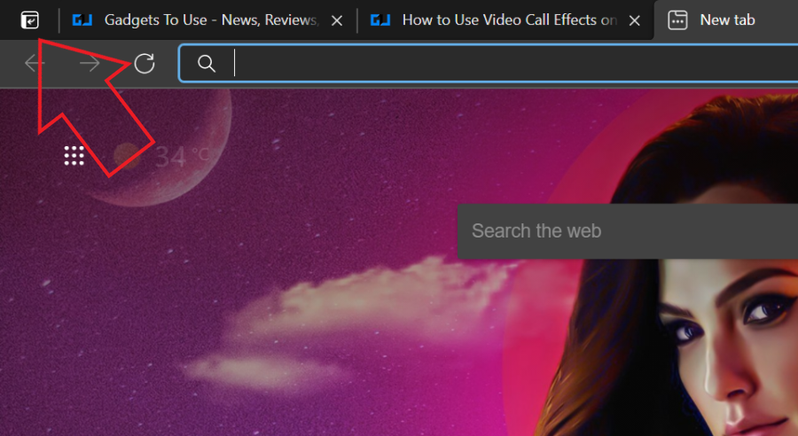 Use Vertical Tabs in Microsoft Edge Browser