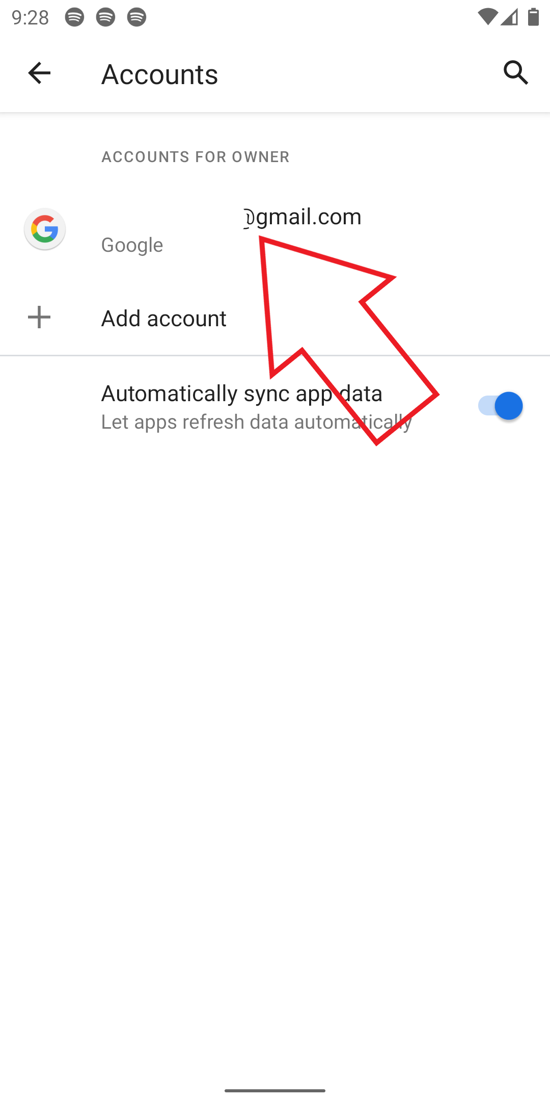 Google Contacts Not Syncing on Android