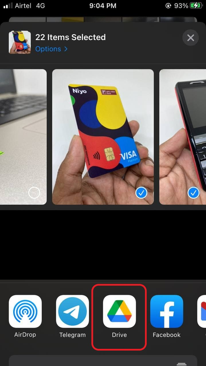 Share Photos & Videos Between iPhone and Android without Compression