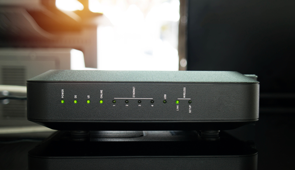Reboot the WiFi router