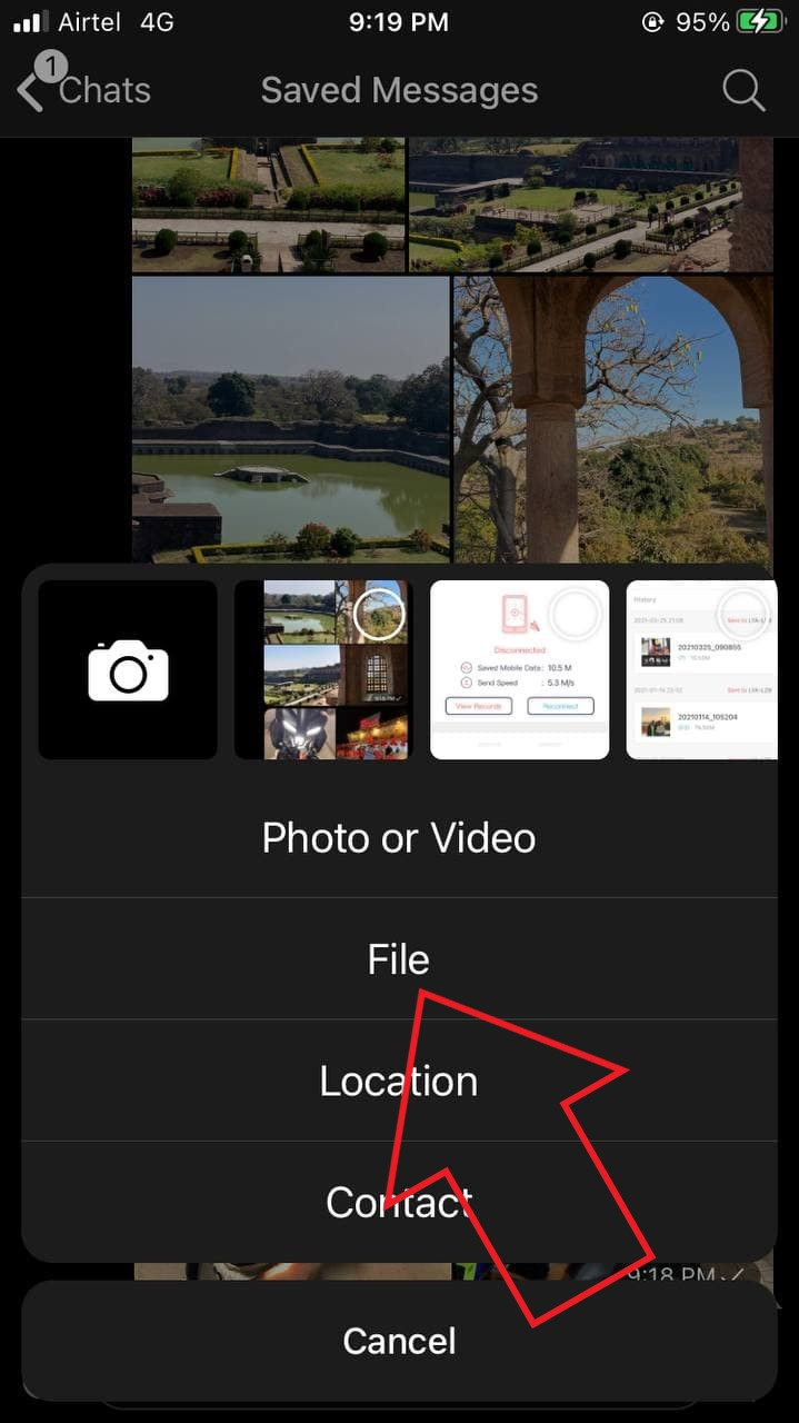 Share Photos Videos from iPhone to Android No Compression