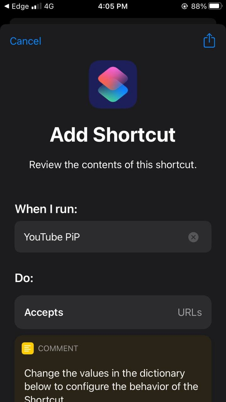 Fix YouTube Picture in Picture Not Working on iOS 14