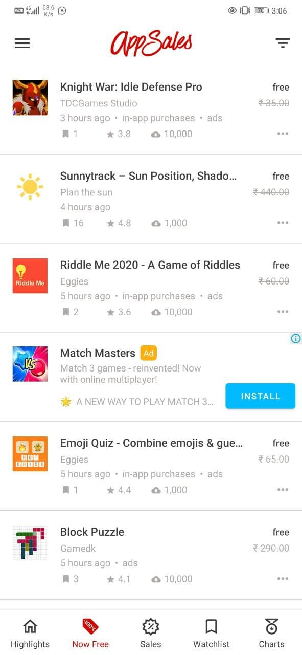 Download and Use Paid Apps on Android For Free