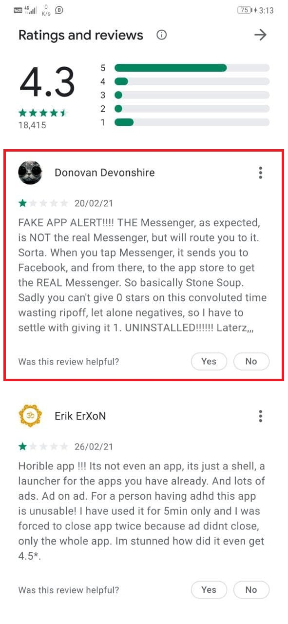 Check if an App is Fake or Real on Play Store