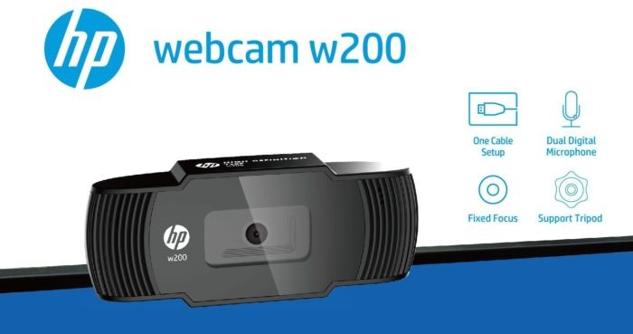 HP w200- Best PC Webcams Under Rs 2000 to Buy in India 2021
