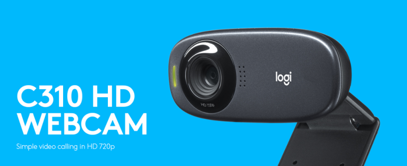 Logitech C310- Best PC Webcams Under Rs 2000 to Buy in India 2021