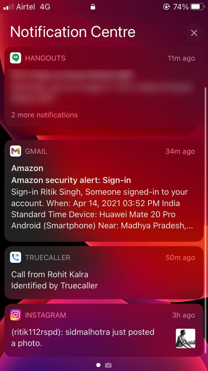 Disable Notification Center on iPhone Lock Screen