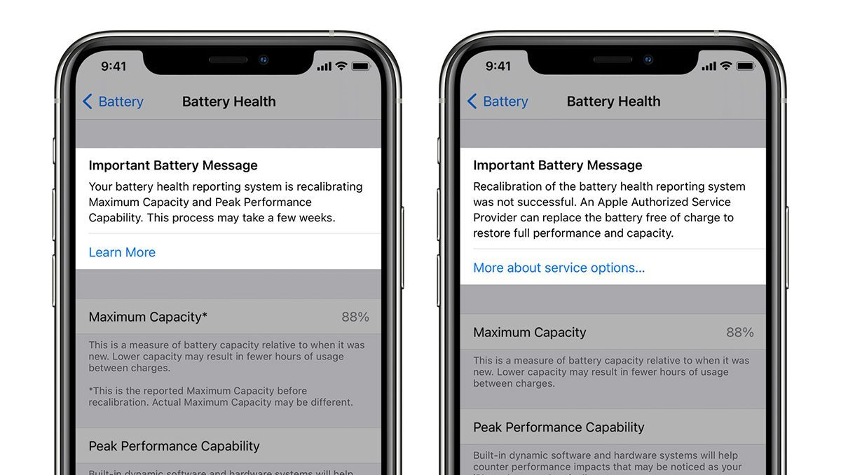 Calibrate Battery on iPhone 11 iOS 14.5