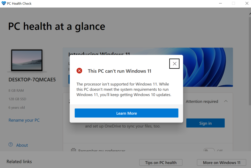 """3 Ways to Fix """"This PC Can't Run Windows 11"""" Error – Gadgets To Use"""