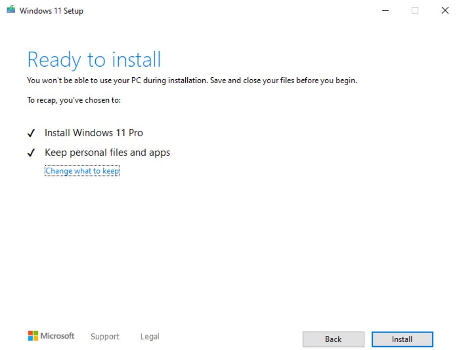 Install Windows 11 on Unsupported PC