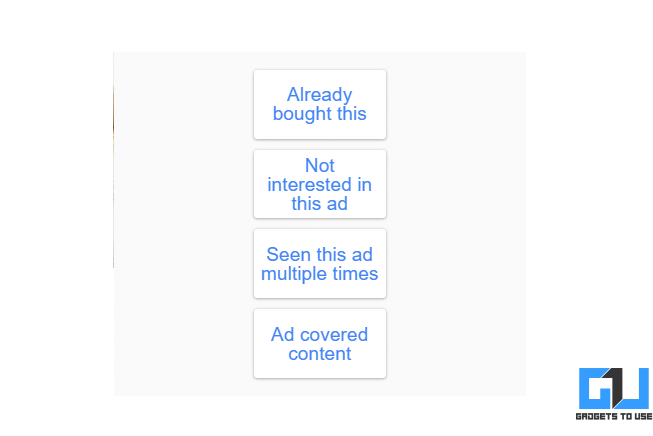 Report or Block Specific Google Ads