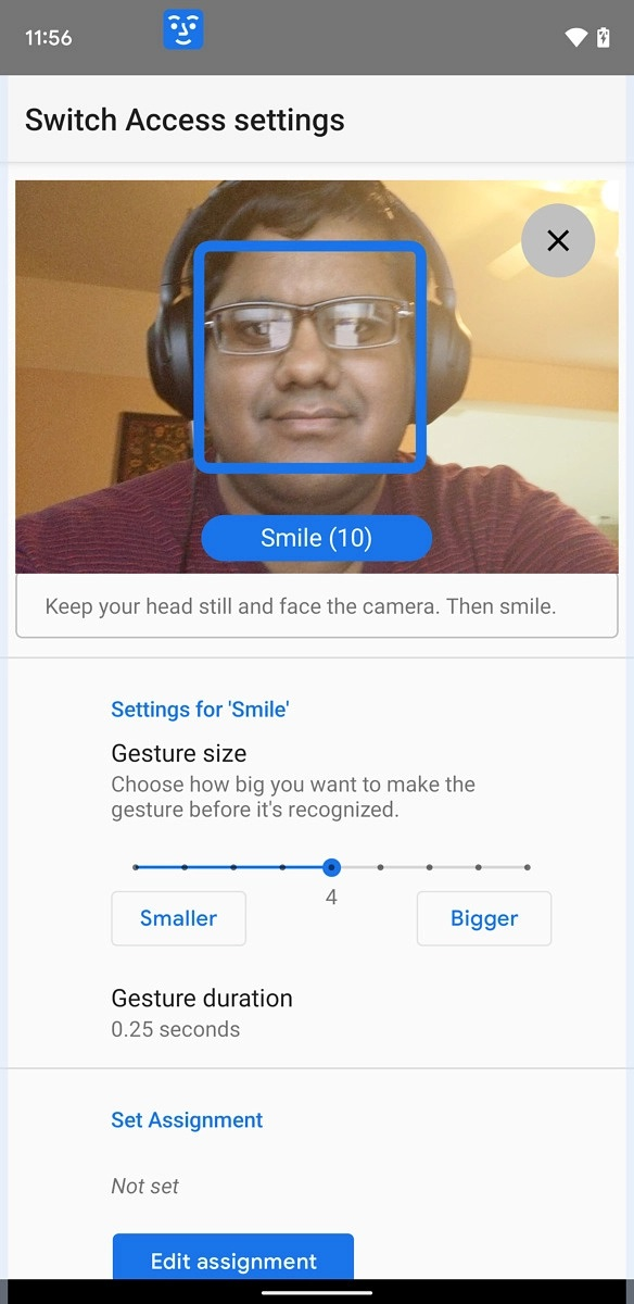 Control Your Android Phone With Face