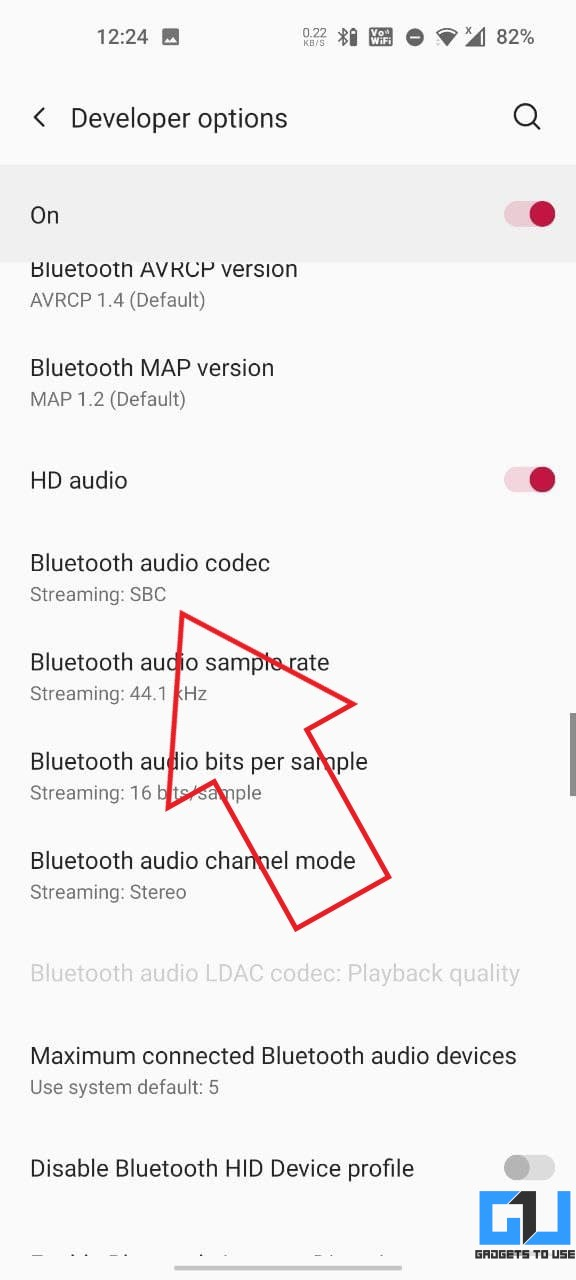Improve Bluetooth Earphone Sound on Android