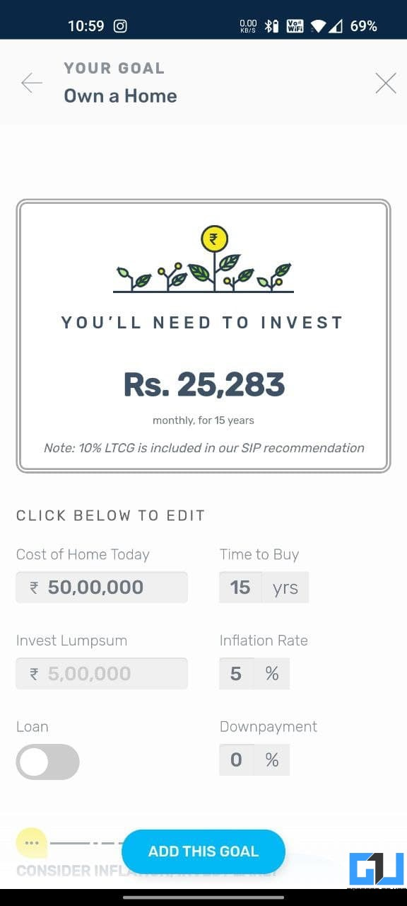 Kuvera- Best Direct Mutual Fund Apps in India