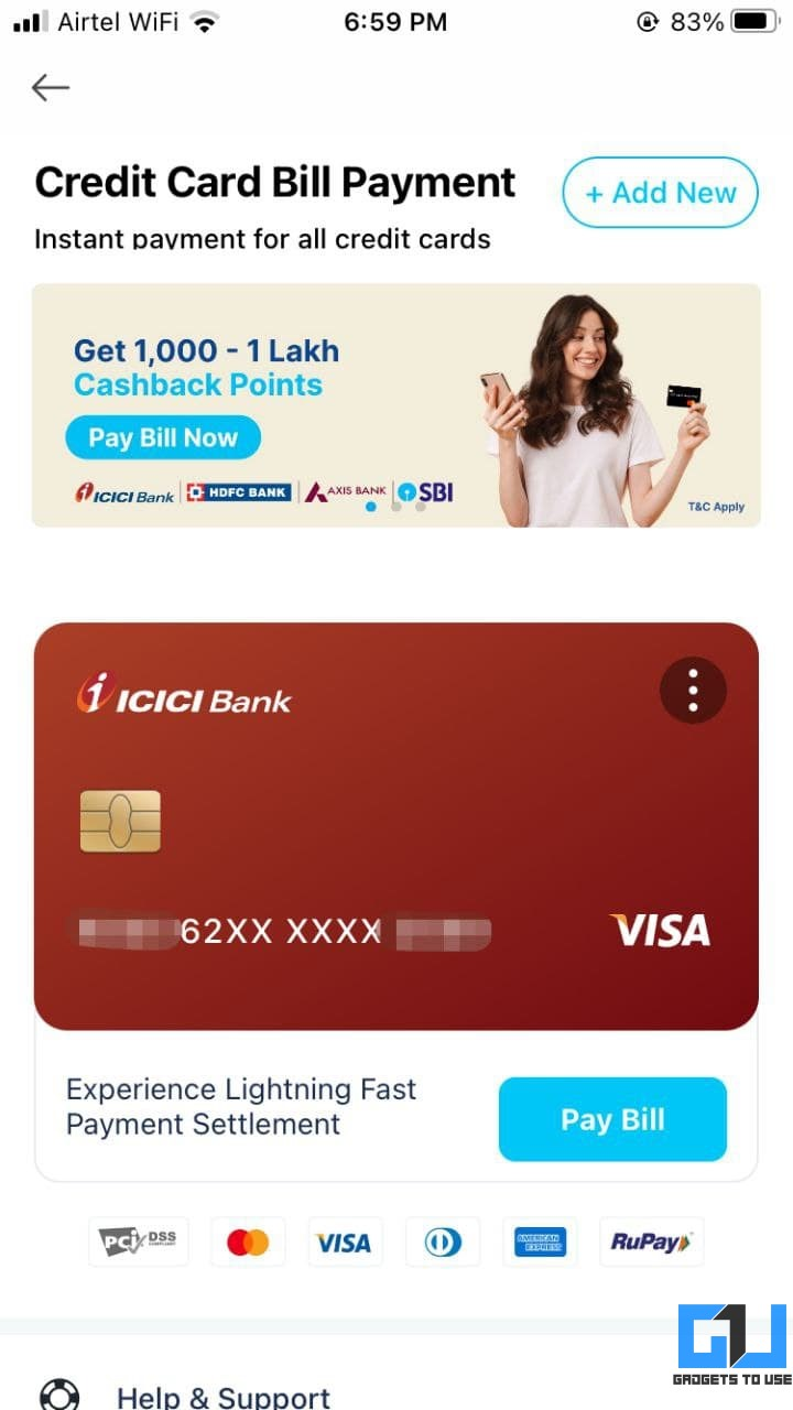 Best Credit Card Bill Apps in India with Cashback Offers