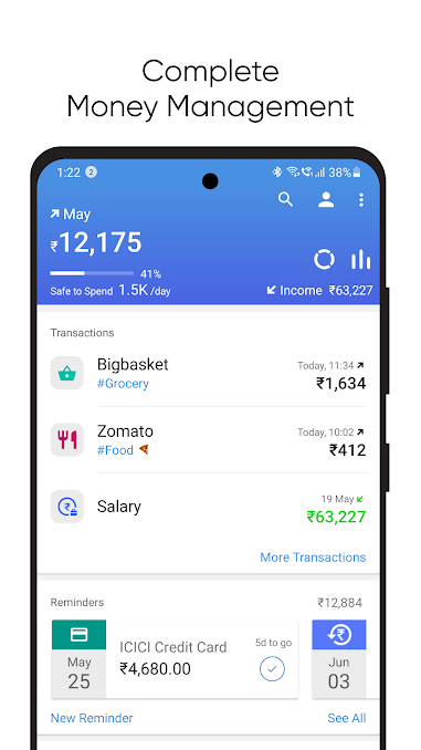 Walnut- Best Expense Tracker App for Android