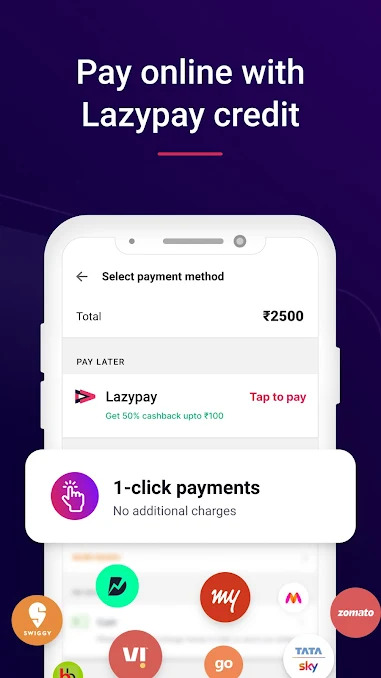 Lazypay- Best Buy Now Pay Later App in India
