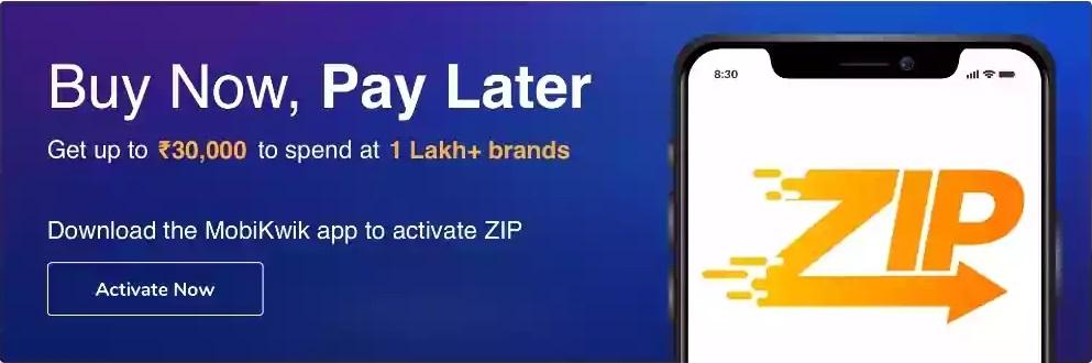 Mobikwik Zip Pay Later