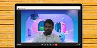 Use Animated Backgrounds in Google meet