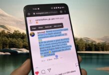 Copy Instagram Comments or Caption on Android, iPhone