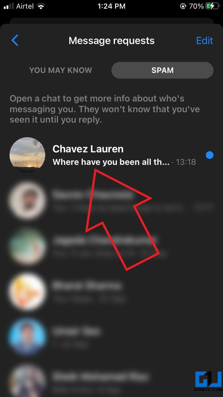 Read Facebook Messenger Messages Without Seen on iPhone