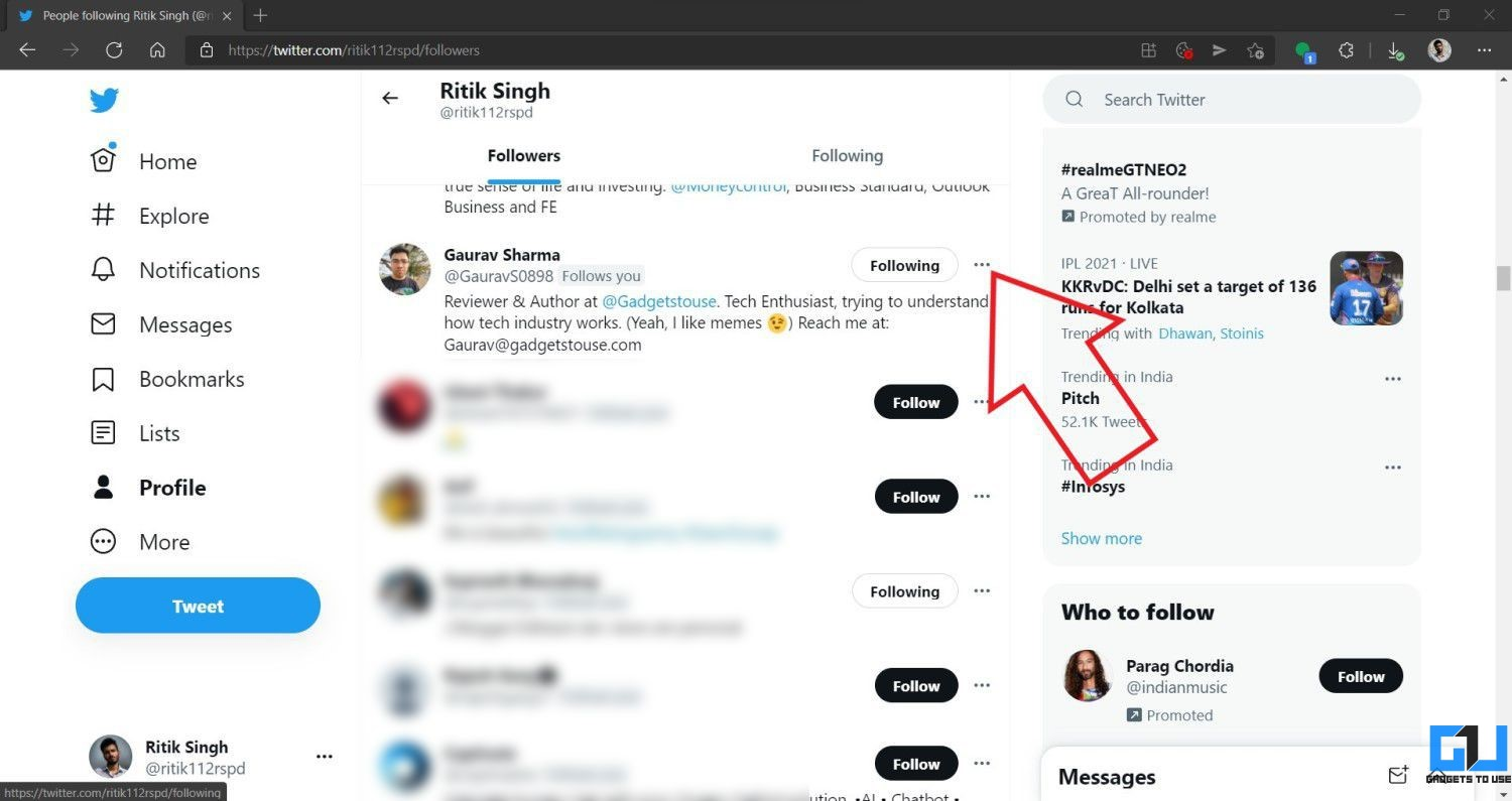 Remove Followers On Twitter Without Blocking Them
