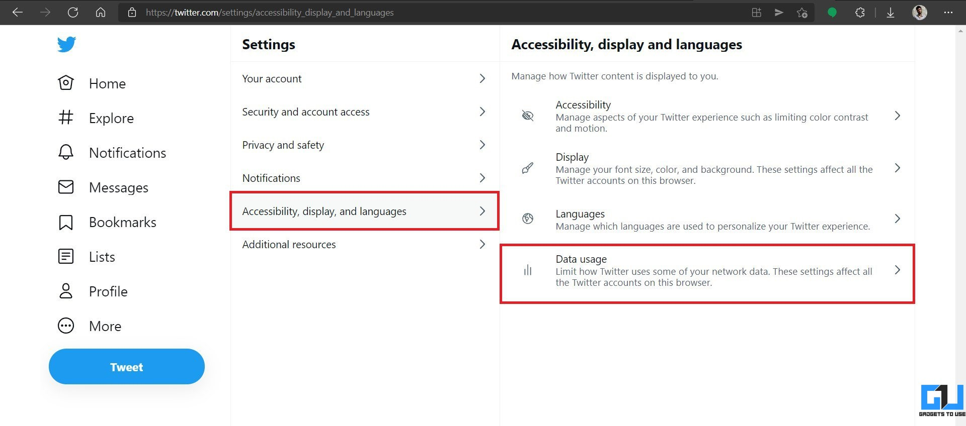 Disable Autoplay Videos in Twitter